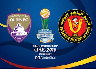 مشاهدة مباراة العين والترجي بث مباشر بتاريخ 15-12-2018 كأس العالم للأندية