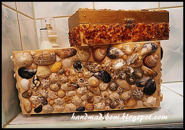 Morskie klimaty – pudełka. Zrób razem ze mną :-)