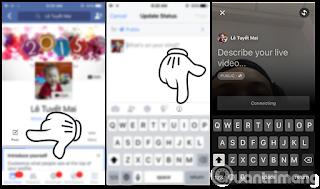 Cách live stream Facebook IOS