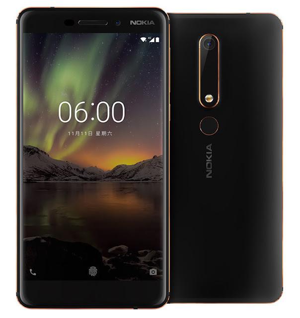 Nokia 6 (2018) Resmi Rilis! Spesifikasi Setara Dengan Harga?