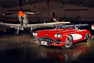 retro style custom modifications corvette