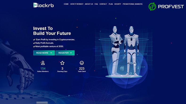 Blockrb Limited обзор и отзывы HYIP-проекта