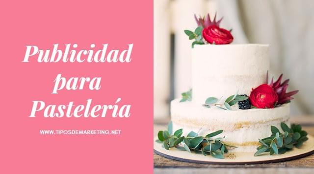 publicidad para pasteleria