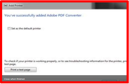 How to Set Pdf as Printer