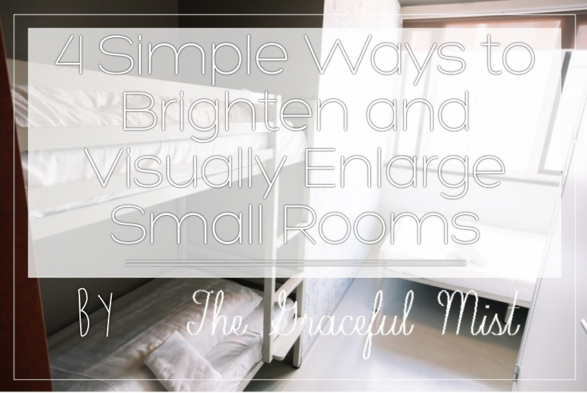4 Simple Ways to Brighten and Visually Enlarge Small Rooms by @TheGracefulMist (www.TheGracefulMist.com) - Beauty, Books, Fashion, Lifestyle and Travel Blog/Website in the Philippines - Sheer Roman Shades - Sponsored by RomanShadeSale.com