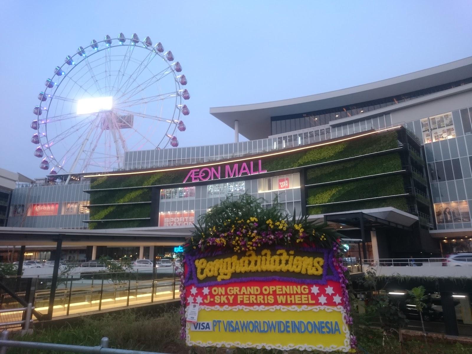 bersama J-Sky Ferris Wheel Menikmati Keindahan Jakarta dari Ketinggian 1
