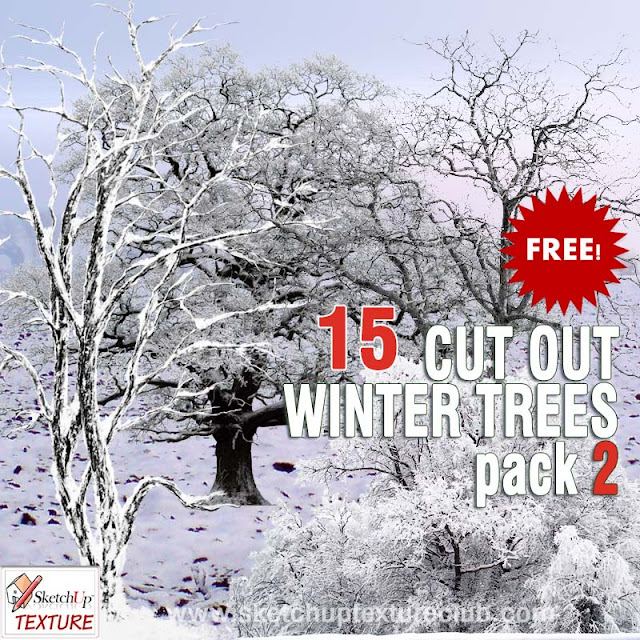 free winter trees png