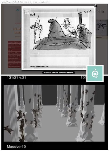 El Señor de los Anillos - Peter Jackson Vs Ralph Bakshi - Bonus Extras - El tabaco en El Señor de los anillos - Pasiajes - Fotografía - Sonido - Banda Sonora - Efectos especiales - Arte conceptual - ÁlvaroGP - el troblogdita - el fancine - Cine fantástico