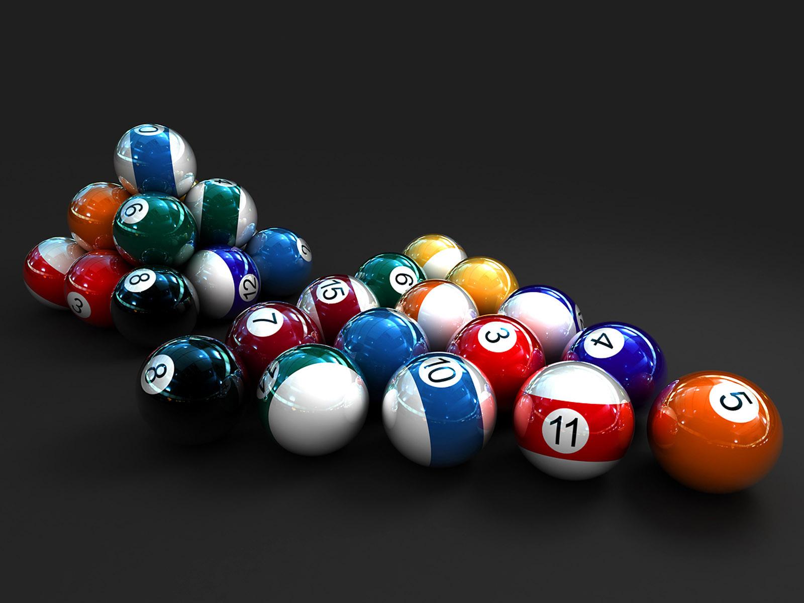 pool balls wallpapers