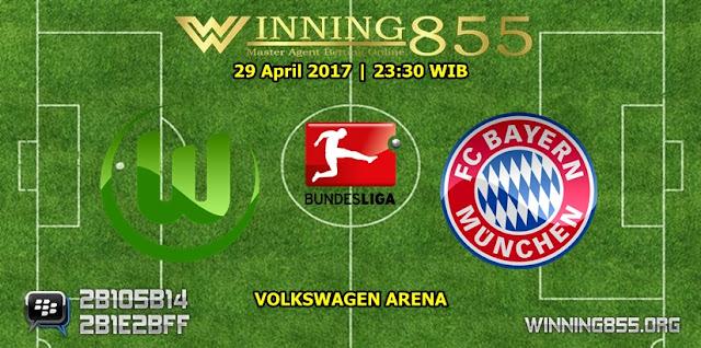 Prediksi Skor Wolfsburg vs Bayern Munchen 29 April 2017