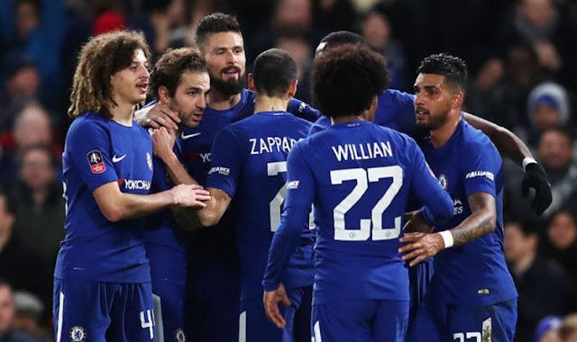 Chelsea Menang Atas Crystal Palace 2-1
