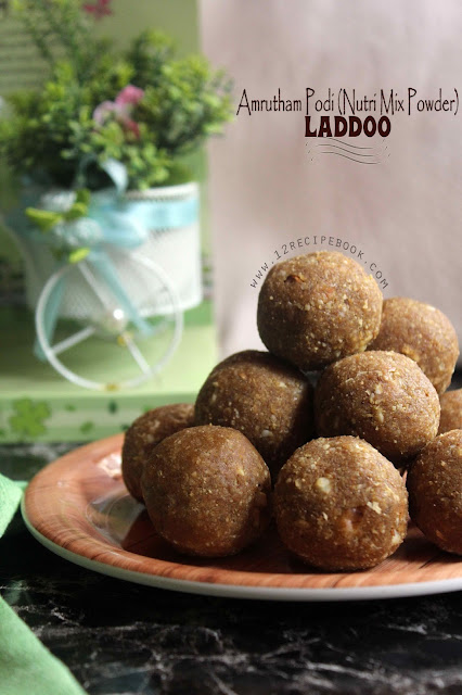 Amrutham Podi (Nutri Mix Powder) Laddoo