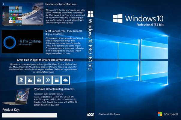 Download windows 10 pro x32 e x64 iso completo mega for Window 10 pro