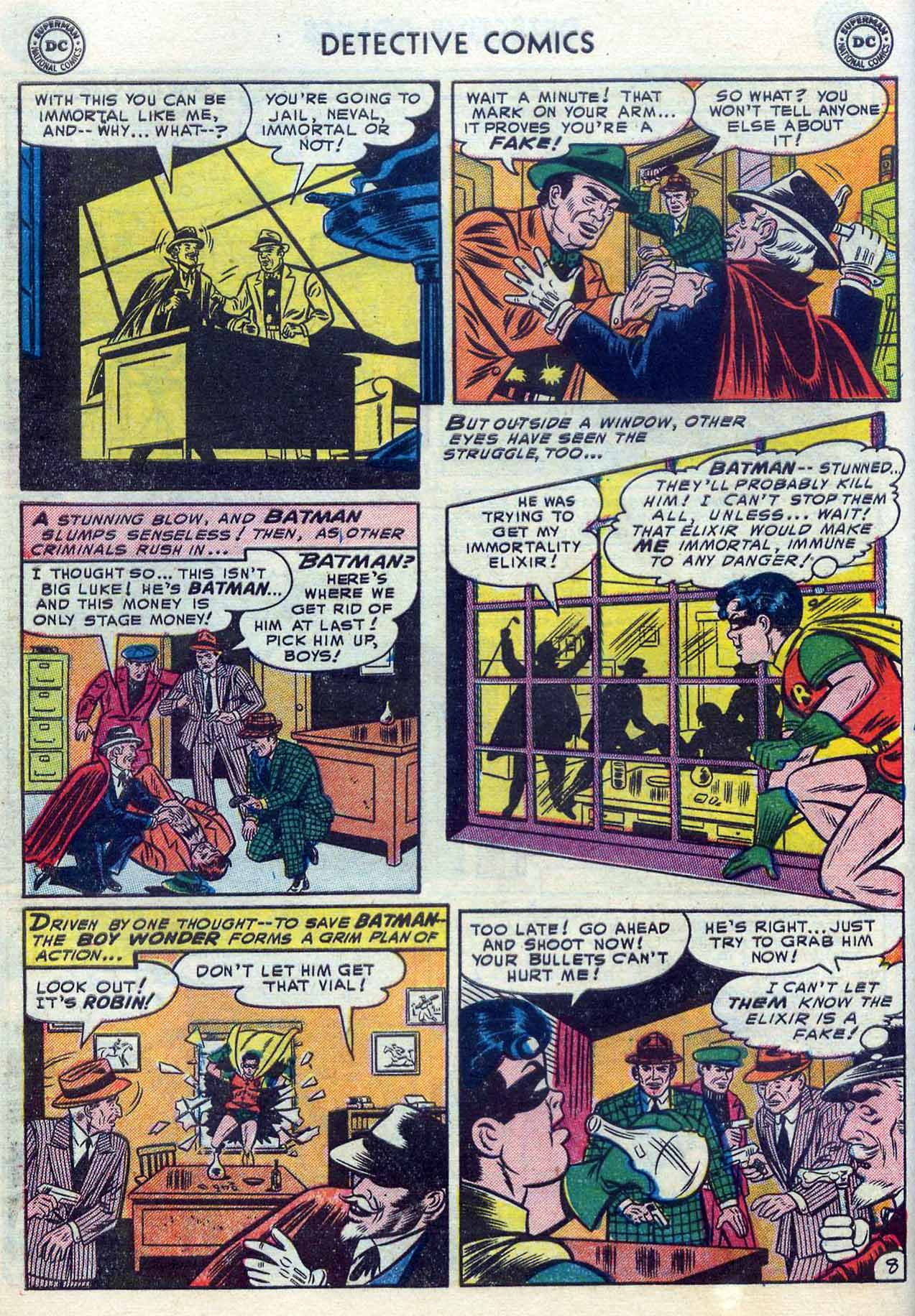 Read online Detective Comics (1937) comic -  Issue #204 - 10