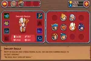 Berbegai karakter yang dapat dimainkan pada Pocket Heroes