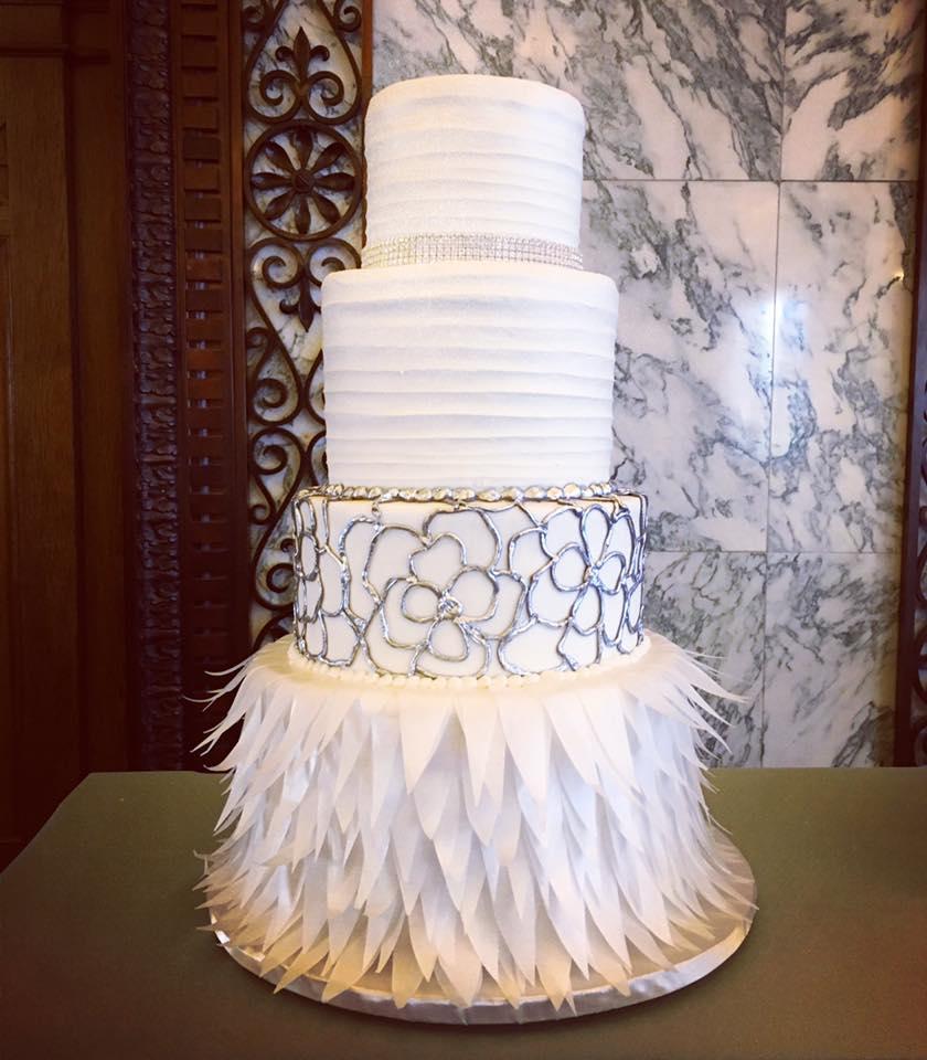 Shop This: Wedding Wednesday: Chic Wedding Cakes From Coast To Coast