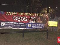 Nobar Film G-30 S/PKI untuk Anak-anak difasilitasi Masjid di Cileungsi