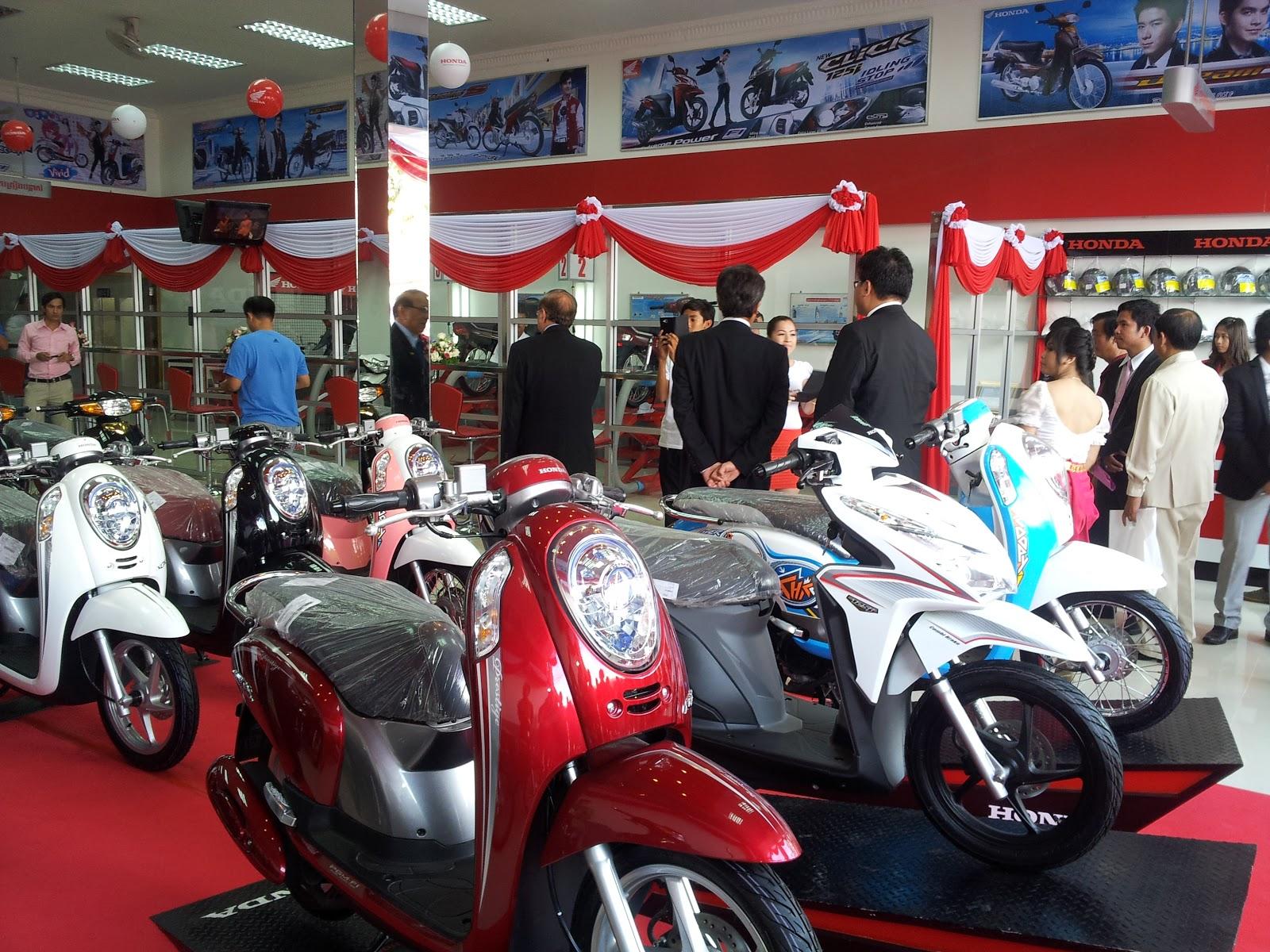 p.l.m. import export company cambodia: honda dong toung shop