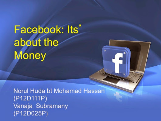 facebook its about the money Facebook serve the connection between all people around the world and facebook wants more money and have many user's, facebook the same thing occurred when facebook introduced its news feed feature technology: privacy and user controls over the information granted to facebook.