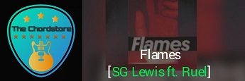 FLAMES Guitar Chords Accurate by | SG Lewsi ft. Ruel