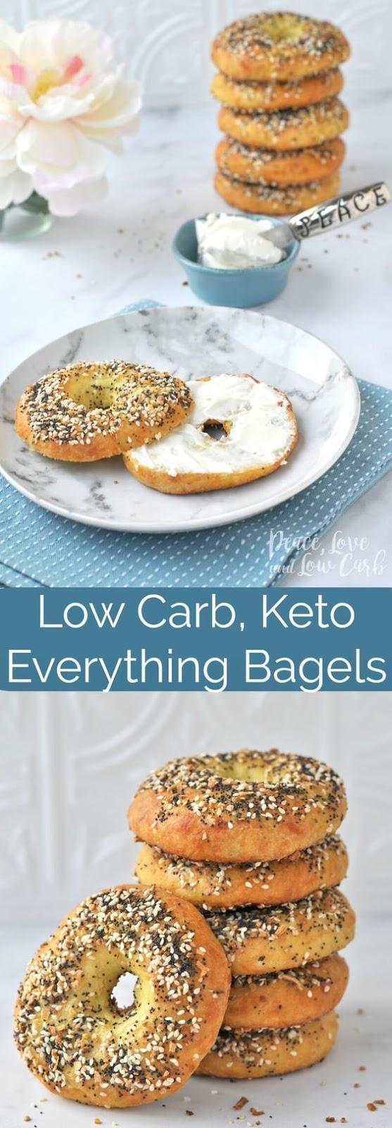 Low Carb Keto Everything Bagels