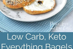 #TOPRECIPES Low Carb Keto Everything Bagels