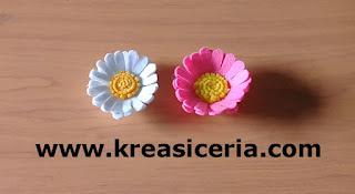 Cara Paling Mudah Membuat Bunga Daisy dari Kain Flanel