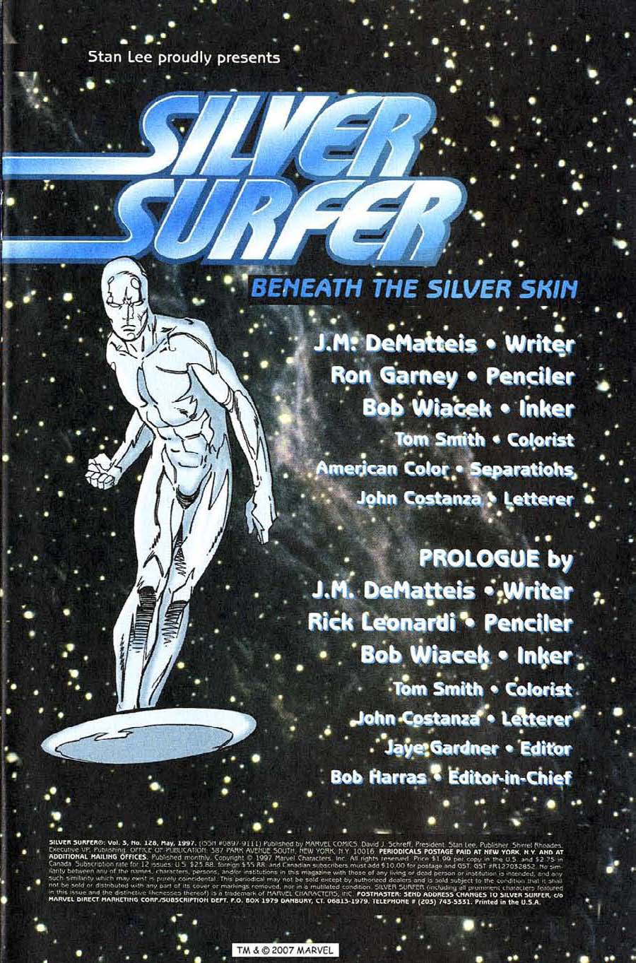 Read online Silver Surfer (1987) comic -  Issue #128 - 3