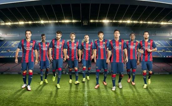Đội hình của tuyển Barca