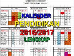 kalender pendidikan terbaru semua provinsi