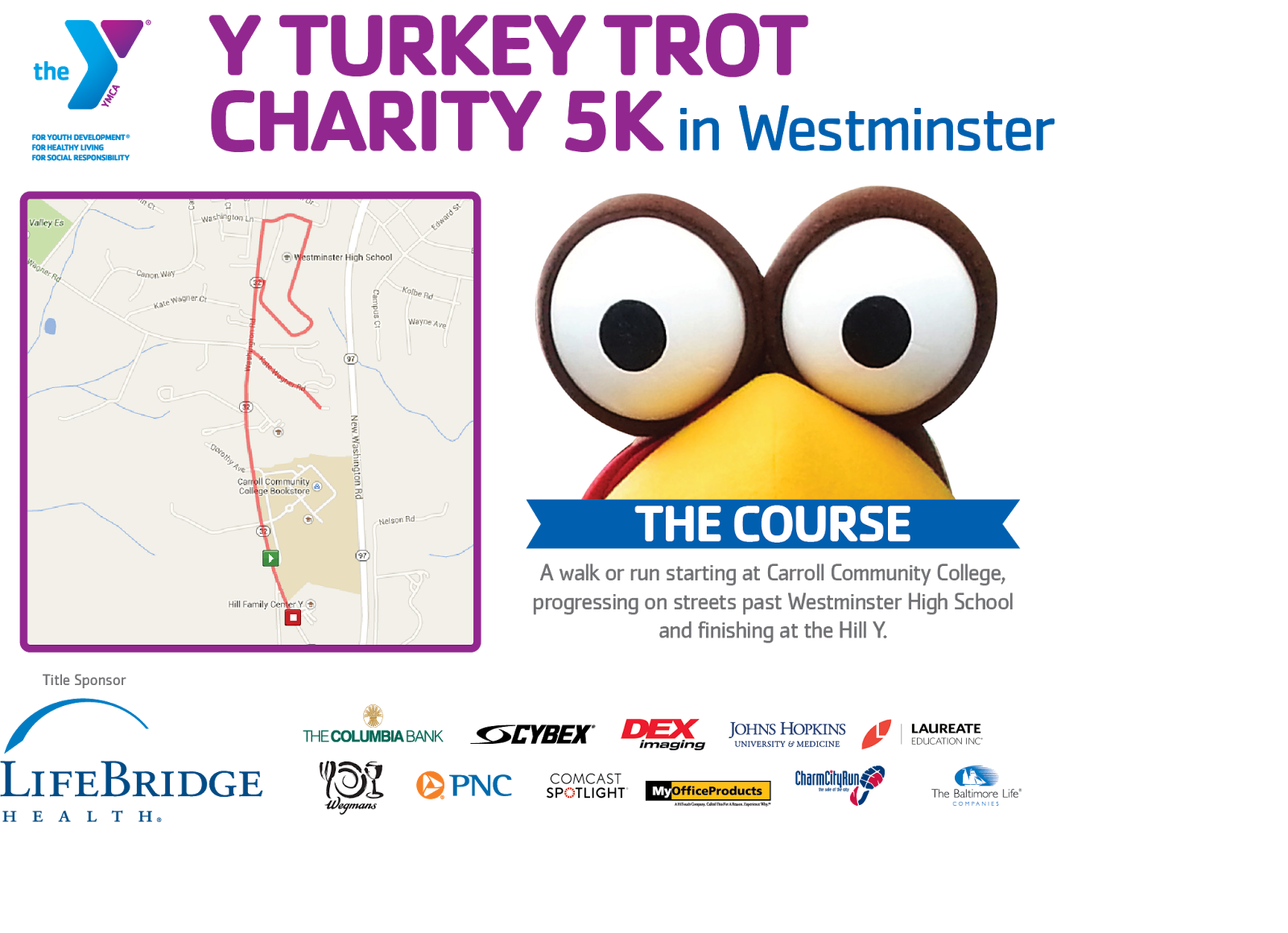 y turkey trot charity 5k westminster