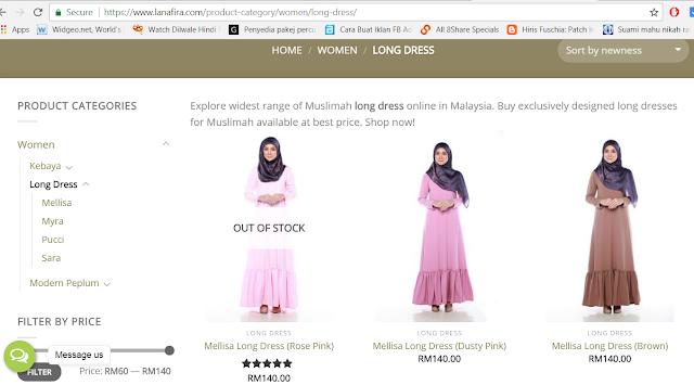 Busana Muslimah dari LANAFIRA.COM