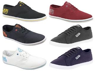 New Mens Henleys Crosshatch Lace Up Logo Canvas Shoe Pumps Trainers Plimsolls £9.49 (ebay)