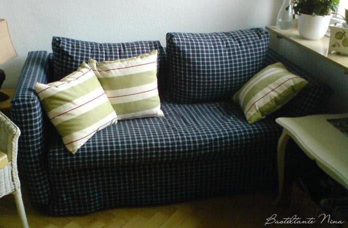 basteltante nina sofa berzug. Black Bedroom Furniture Sets. Home Design Ideas