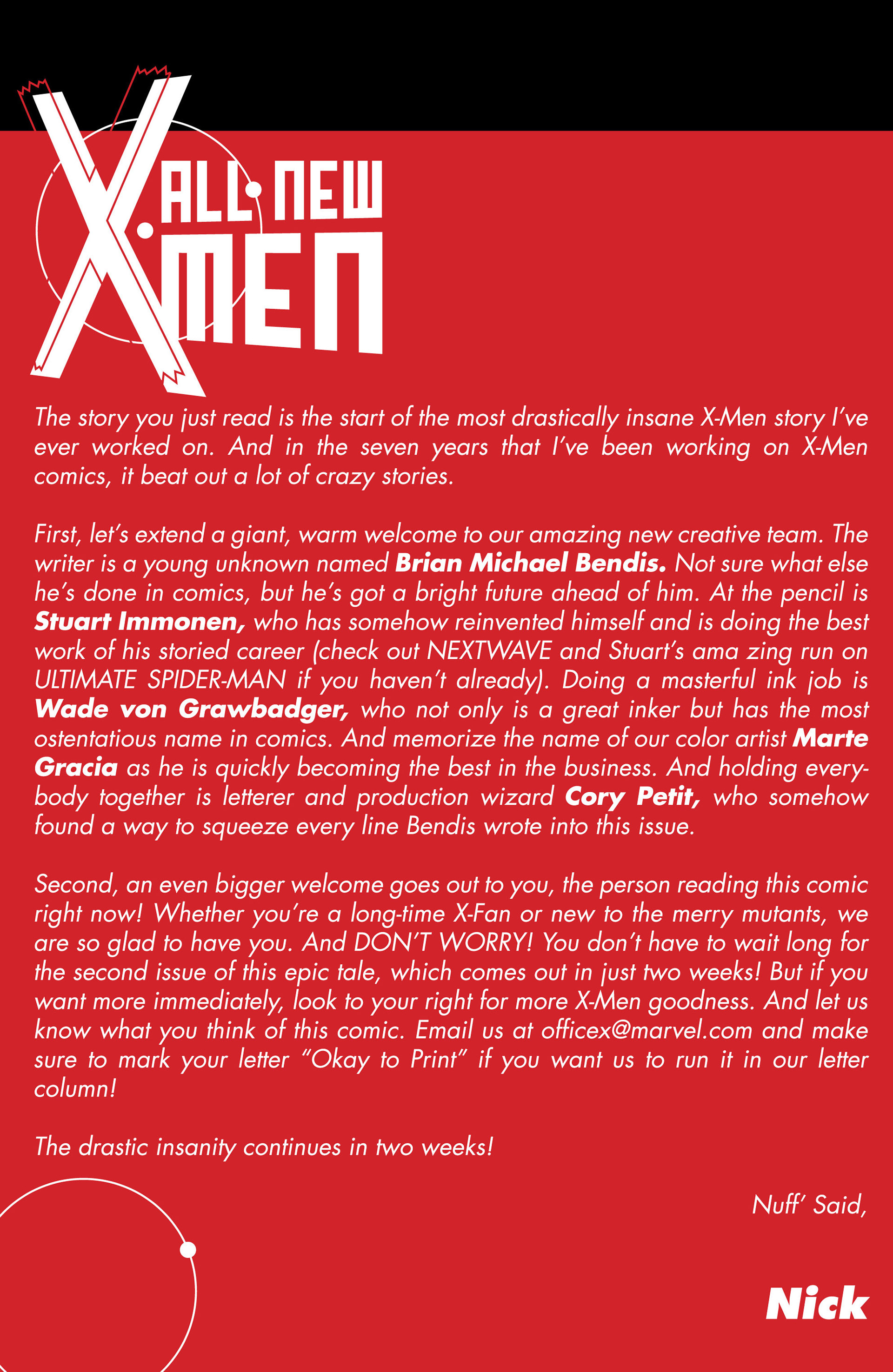 Read online All-New X-Men (2013) comic -  Issue #1 - 21