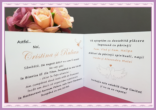 Invitatii Nunta Poveste de Nunta 9