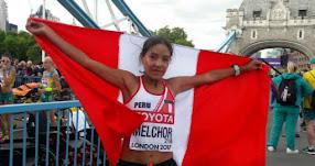 INÉS MELCHOR: Fondista peruana la mejor sudamericana en el Mundial de Atletismo