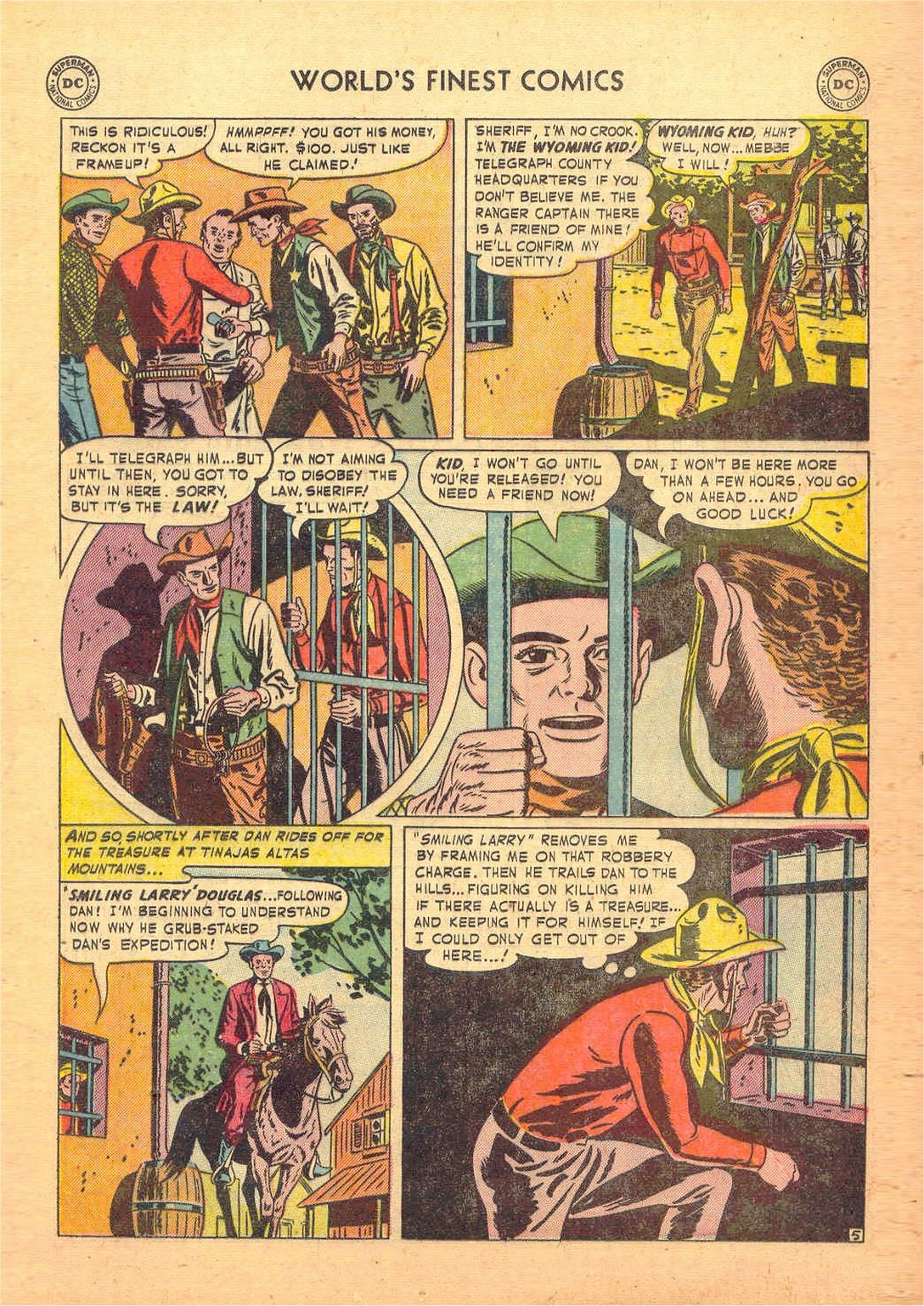 Read online World's Finest Comics comic -  Issue #58 - 33