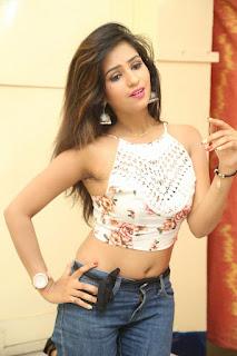 Deekshita Parvathi in a short crop top and Denim Jeans Spicy Pics Beautiful Actress Deekshita Parvathi January 2017 CelebxNext (145).JPG