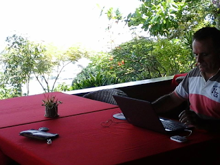 Picture of Rafael Martinez-Minuesa working remotely from Tay-Tay