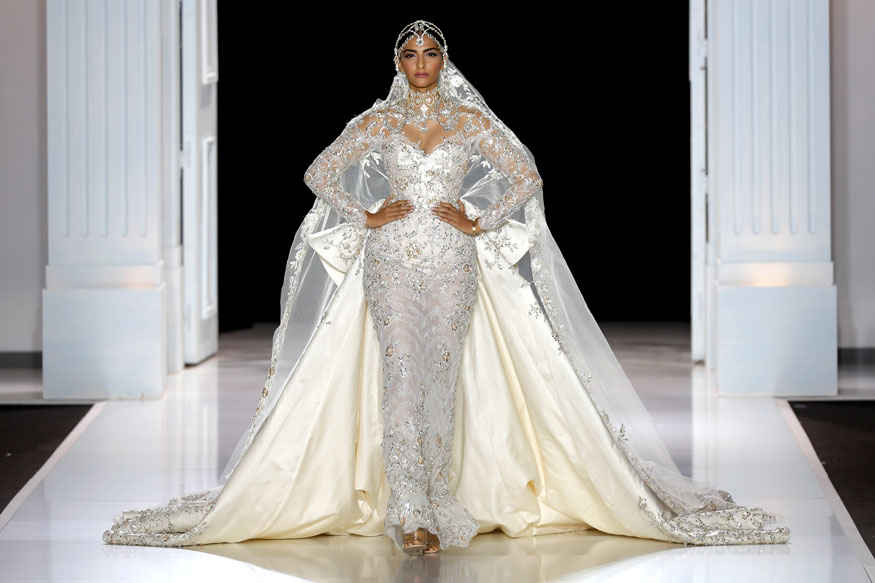 Sonam Kapoor at Ralph & Russo's Haute Couture Show Stills In Paris