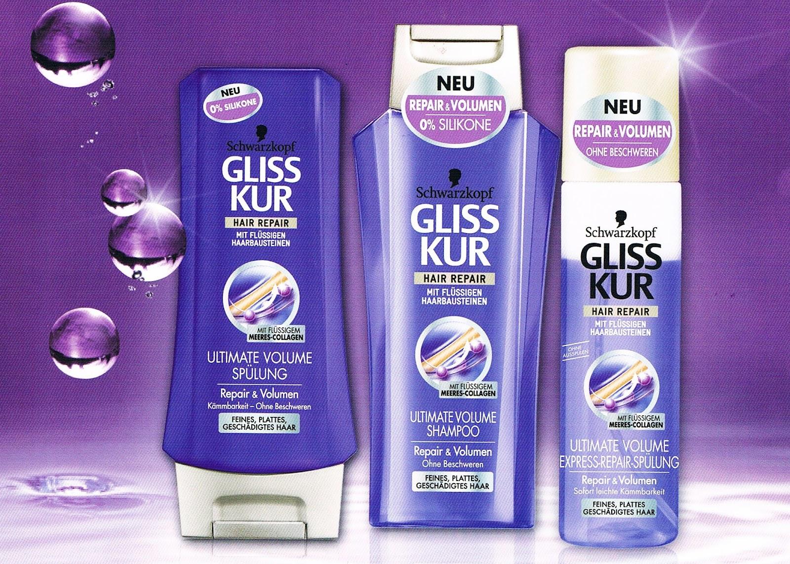 Gliss Kur Shampoo Ohne Silikone