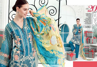 Latest Luxury Festive Catalog by Gul Ahmed