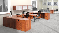 Dark Cherry Office Furniture