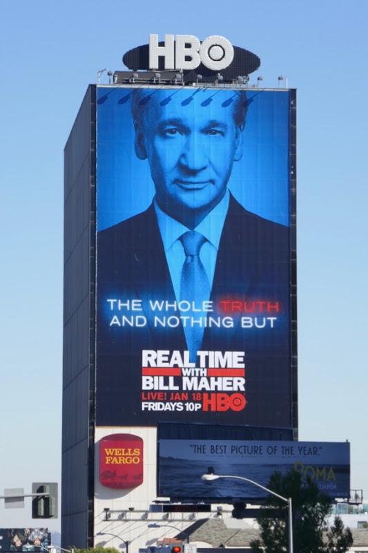 Real Time Bill Maher season 17 billboard