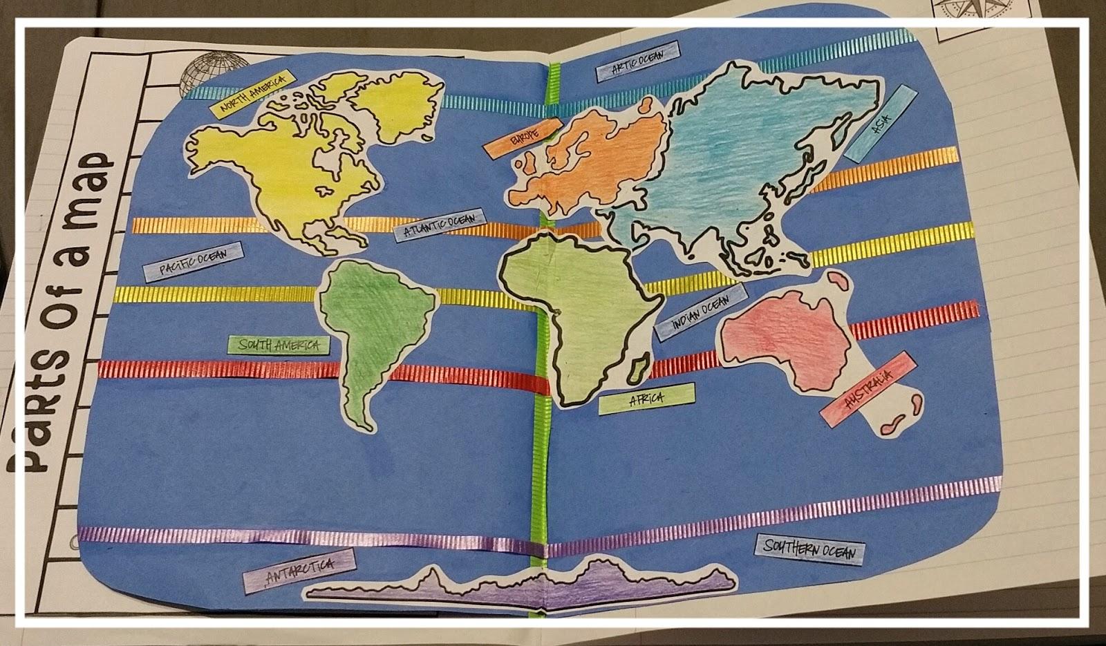 Teel S Treats The World Interactive Notebook Activity