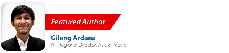Gilang Ardana, IYF Regional Director Asia & Pacific