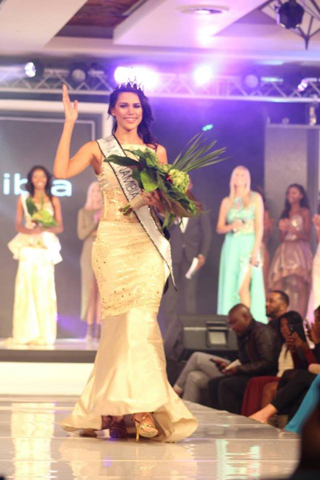 Miss Universe 2017 Crown >> Eye For Beauty: Suné January wins Miss Namibia 2017