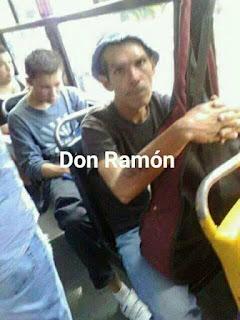 Parecidos de famosos en el transporte público don ramon