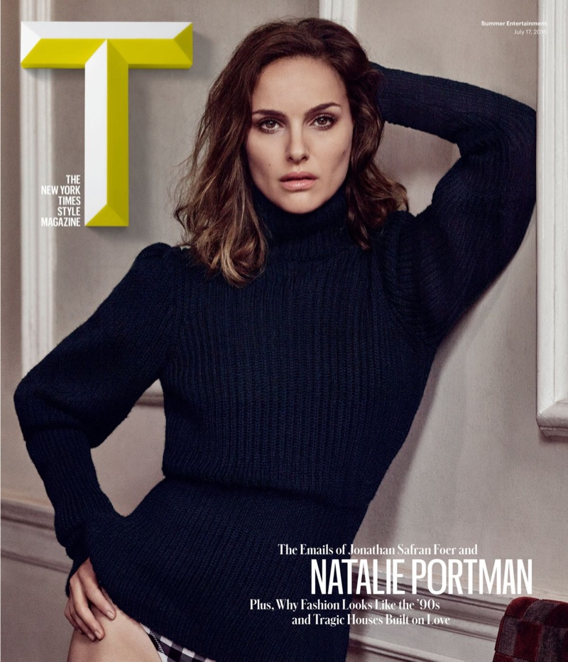 Natalie Portman wears bikinis and sweaters for T Magazine Summer 2016